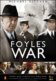 """foyles war Set in the early 1940's...Hitlers on the rise...England is at war...Foyle is solving crimes ....Great """"period Piece""""  Great costumes...great twist in plot.."""