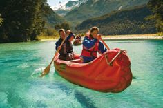 Discover the untamed beauty of the UNESCO World Heritage-listed Mount Aspiring National Park on this full-day Dart River 'funyak' (inflatable canoe) and jet boat tour from Queenstown! Travel by coach to Glenorchy, where your adventure begins, and th Camping New Zealand, New Zealand Travel, Fiji Honeymoon, Australia Tours, Next Holiday, Boat Tours, South Island, Vacation Packages, Travel