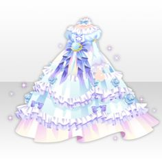 Snow Crystals - A rose blooming in the place covered with snow was a VIP Gacha available from to (February). Anime Outfits, Girl Outfits, Cute Outfits, Dress Drawing, Drawing Clothes, Rose Dress, Dress Up, Anime Dress, Cocoppa Play