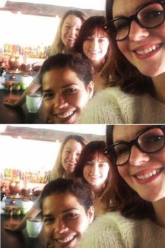 """We hope these pants still fit! Not since the 2008 sequel have we seen The Sisterhood of the Traveling Pants girls all together. Blake Lively, America Ferrera, Alexis Bledel and Amber Tamblyn posed for a selfie on Sept. 15, 2014, with Tamblyn Instagramming: """"Brunch with my best b**ches. #sisterhood @preserve_us @americaferrera."""" We can't wait to see where their magic jeans will take them next!"""