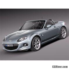 Mazda MX 5 2013 - 3D Model