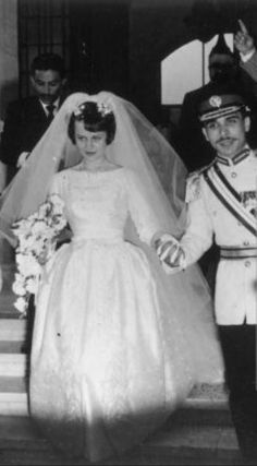 Photos d'archive: La princesse Muna al-Hussein