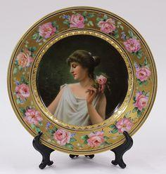 Royal Vienna portrait plate : Lot 6052