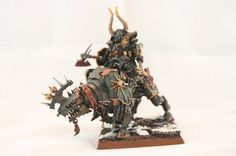 Hand Painted Warhammer Fantasy Chaos Lord on by Wolftribe on Etsy, $50.00