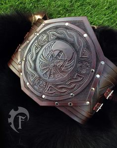 Dwarf large belt by Feral-Workshop.deviantart.com on @deviantART