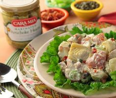 Potato Salad with Cara Mia Artichoke Hearts #CaraMia
