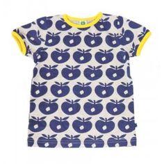 Smafolk T-shirt appels blauw