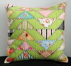 s.o.t.a.k handmade - Migration is the name of the pillow made by an amazingly talented Mary (Molly Flanders).