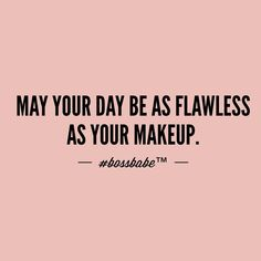 You know that feeling when you set your biggest makeup brush down and spray your setting spray and you have that fresh dewy flawless look? Yeah... Let your day be like that sh*t.  Take the FREE 3-day #BossBabe starter course by clicking the link in our profile!!