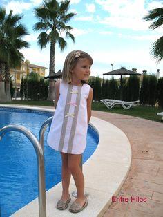 Entre Hilos: Tutorial: como forrar un vestido Baby Dress, Ideas Para, Lily Pulitzer, Sewing Patterns, Couture, Summer Dresses, Fashion, Outfits, Dresses For Babies