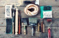 bread & tools.  design Anna Cellamare
