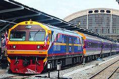 Travel by train. By Train, Train Tracks, Thailand, Around The Worlds, Vacation Ideas, Trains, Blog, Blogging, Train