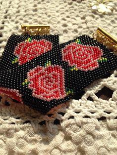Róże, bransoletka