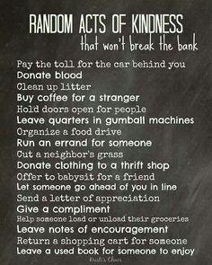 Essay topics kindness