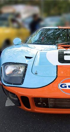 Drool-worthy Ford GT in stunning Gulf Livery #SupercarSunday #spon