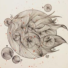 """Mi piace"": 43, commenti: 5 - Manuel (@doppiaemmegram) su Instagram: ""means of escape #illustration #art #drawing #line #circle"""