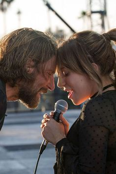 """""""A Star Is Born"""" starring Lady Gaga and Bradley Cooper is going to be a smash hit when it's released. Bradley Cooper goes fuzzy in the film's second half, maybe not by choice. Bradley Cooper, Soundtrack, Quim Gutierrez, Best Romantic Movies, Perfect Movie, A Star Is Born, Star Wars, Michael Fassbender, Look At You"""