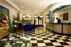 Hermoso Lobby. que podras disfrutar en el hotel Caribbean