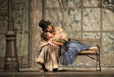 Ensayo La dama y el bufón. Ballet de Santiago. Foto: Patricio Melo