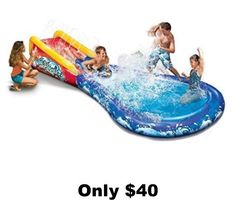 Only $40, Kids Pools, Water Slides, Outdoor Fun, http://shopsheds.com/buy-sheds-pavilions-playhouses.htm