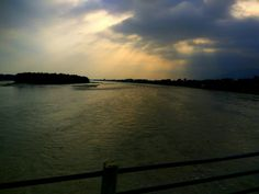 Narayani gets me every single time# sunset # clouds# sky# island# bridge#narayani#chitwan#nepal