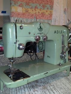 Adler 189A, made in West Germany. Very heavy and does heavy duty sewing.