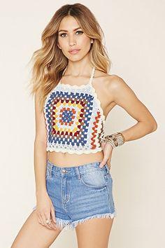 Crochet Knit Halter