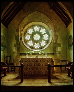 Church Window by Penbroke, via Flickr