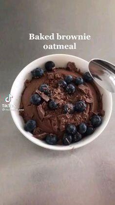 Healthy Dessert Recipes, Healthy Baking, Healthy Desserts, Snack Recipes, Healthy Sweet Snacks, Healthy Brownies, Fall Recipes, Fun Baking Recipes, Cooking Recipes