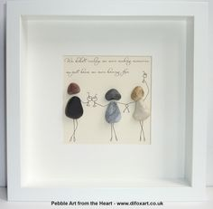 Buy Pebble pictures, custom-made unique gifts for - family - friends or a treat . - Buy Pebble pictures, custom-made unique gifts for – family – friends or a treat for yourself. Pebble Painting, Pebble Art, Stone Painting, Stone Crafts, Rock Crafts, Arts And Crafts, Pebble Stone, Stone Art, Diy Tableau