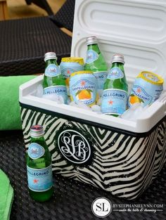Fabric Covered Cooler