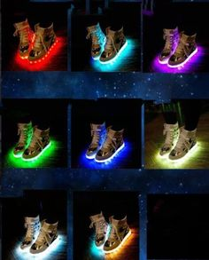 Men's Shoes Adults Led Usb Charging Glowing Sneakers Hook Loop Footwear Unisex Fashion Luminous Casual Shoes For Men Women Dancing Shoes Perfect In Workmanship Men's Casual Shoes