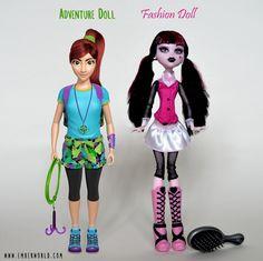 Meet Ember: The Worlds First Adventure Doll! | Indiegogo