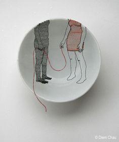 Artista cria incríveis obras com sua sutileza |Diem Chau