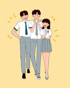 Kpop Couples, Cute Couples, Drama Korea, Korean Drama, Weightlifting Fairy Kim Bok Joo Fanart, Strong Woman Do Bong Soon Art, Book Cover Background, Cover Wattpad, Korean Best Friends