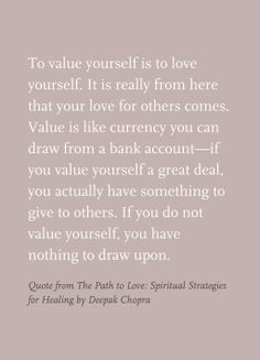 Quote from The Path to Love: Spiritual Strategies for Healing by Deepak Chopra