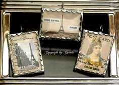 Soldered Paris charms