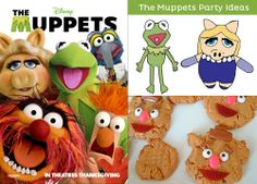 AWESOME Muppets Party Ideas - Cute Free Party Printables & Recipe ideas.