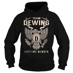 Team DEWING Lifetime Member - Last Name, Surname T-Shirt #name #tshirts #DEWING #gift #ideas #Popular #Everything #Videos #Shop #Animals #pets #Architecture #Art #Cars #motorcycles #Celebrities #DIY #crafts #Design #Education #Entertainment #Food #drink #Gardening #Geek #Hair #beauty #Health #fitness #History #Holidays #events #Home decor #Humor #Illustrations #posters #Kids #parenting #Men #Outdoors #Photography #Products #Quotes #Science #nature #Sports #Tattoos #Technology #Travel…