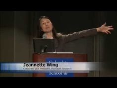 Computational Thinking with Jeannette Wing - YouTube