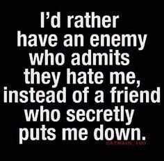 Love it when people show you their true colors. Makes life so much easier!