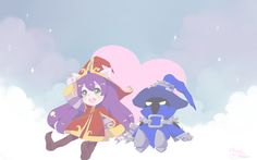 Lulu and Veigar by Cherry-pecan