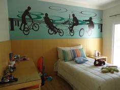 Decoração para quartos de meninos adolescentes - http://www.quartosdemeninos.com/decoracao-para-quartos-de-meninos-adolescentes/