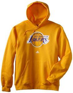 NBA Los Angeles Lakers Primary Logo Hoodie, Medium, Gold