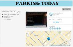 wesmartPark Parking - NN - Ubicación:  Diputación 303 #parkvoluciona con WSP y la economía colaborativa...