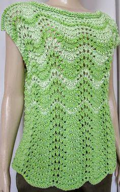 Fatos & Feitio: Blusa de tricô ponto pavão