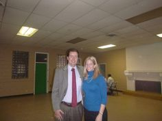 #Lawyer Evan Guthrie with Jennifer Hall, Charleston School of Law Class of 2015 at the Center For Heirs Property Preservation Wills Clinic at the Ray T. Johnson CTS Building in Walterboro, SC on December 6, 2014.