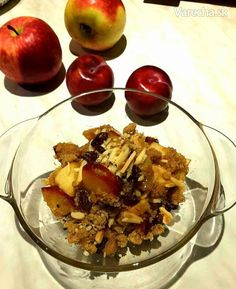 Voňavé jesenné crumble (fotorecept) - Recept