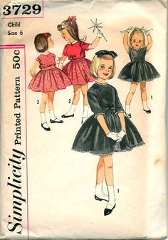 1950's Girls DRESS & JACKET PATTERN Vintage by graymountaingoods, $8.00