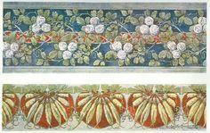 ART NOUVEAU DECORATIVE PRINT 1910